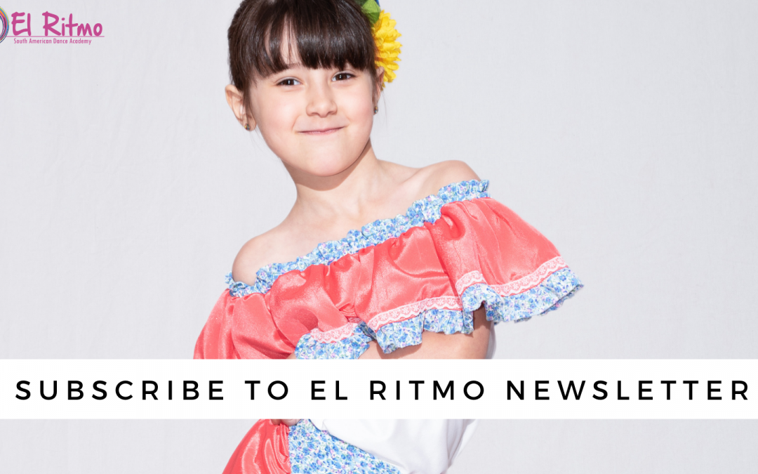 Subscribe to El Ritmo's Newsletter!